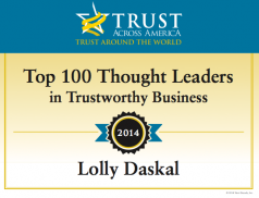 Trust Across America - Top 100 Thought Leaders